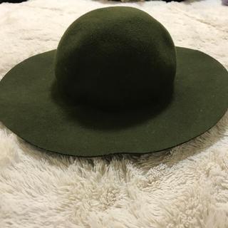 ローズバッド(ROSE BUD)のフエルトハット 女優帽(ハット)