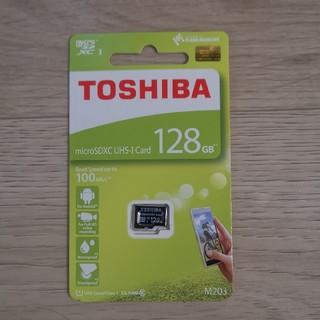 東芝 - 新品未使用 東芝 microSD 128GB