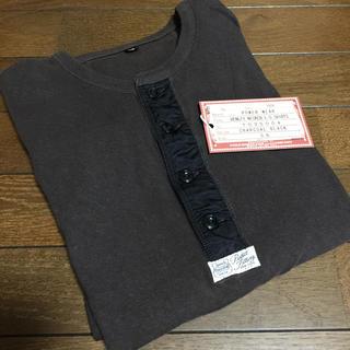 フリーホイーラーズ(FREEWHEELERS)のフリーホイーラーズ ヘンリーネック 長袖 Tシャツ  (Tシャツ/カットソー(七分/長袖))