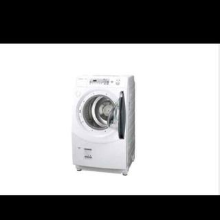 SHARP - ドラム式洗濯機 シャープ コンパクト スリムサイズ 乾燥機 洗濯機乾燥まで