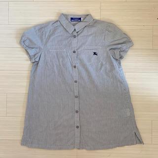 バーバリー(BURBERRY)のBurberry ストライプシャツ(シャツ/ブラウス(半袖/袖なし))