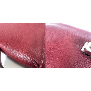 Hermes - エルメス サックアデペッシュ41 フィヨルド ルージュアッシュ ビジネスバッグ