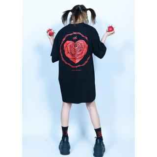 ミルクボーイ(MILKBOY)の新品  KRY 「KYODOU」 レッド(Tシャツ/カットソー(半袖/袖なし))