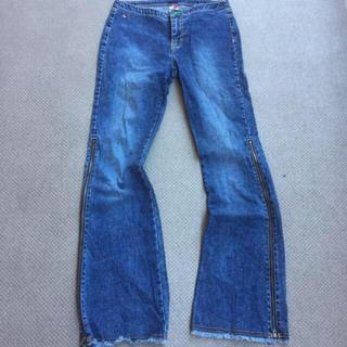 トミーヒルフィガー(TOMMY HILFIGER)の90's tommy jeansヴィンテージトミージーンズ ワイドデニム(デニム/ジーンズ)