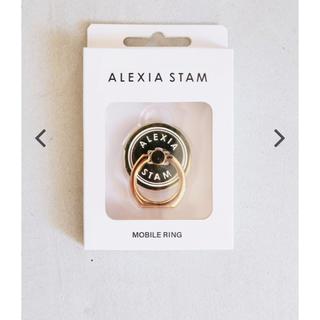 アリシアスタン(ALEXIA STAM)のALEXIA STAM スマホリング(iPhoneケース)