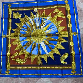 エルメス(Hermes)のHERMESスカーフ シルク100%(スカーフ)