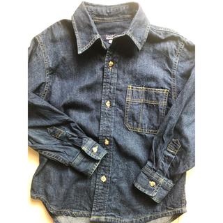 シップス(SHIPS)のSHIPS ダンガリーシャツ☆120cm(Tシャツ/カットソー)