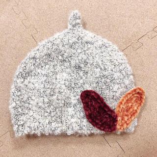 プチジャム(Petit jam)のプチジャム:木の葉ニット帽(帽子)