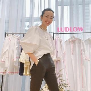 ラドロー(LUDLOW)の今季大人気♡新作 ブラウス ラドロー cymbal LUDLOW(シャツ/ブラウス(半袖/袖なし))