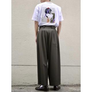 ジエダ(Jieda)のJieDa EMBROIDERY S/S T-SHIRT BLACK 1(Tシャツ/カットソー(半袖/袖なし))