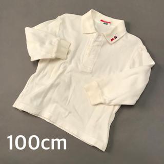 ミキハウス(mikihouse)のミキハウス ポロシャツ 白(Tシャツ/カットソー)