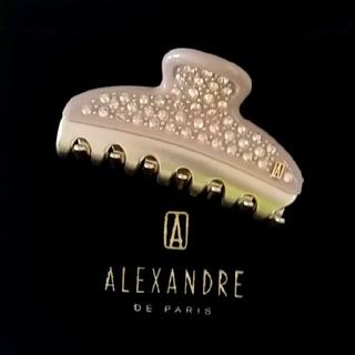 アレクサンドルドゥパリ(Alexandre de Paris)の新品☆アレクサンドル ドゥ パリ クリップ ヴァンドーム(バレッタ/ヘアクリップ)