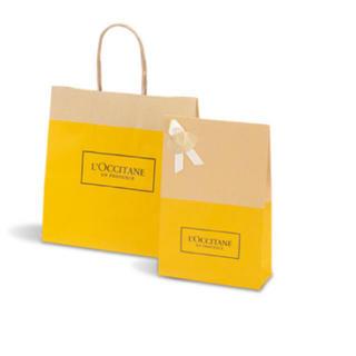 ロクシタン(L'OCCITANE)のロクシタン★プレゼント用★紙袋(大)(ショップ袋)
