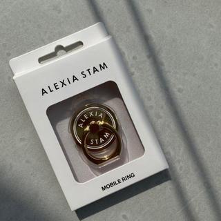 アリシアスタン(ALEXIA STAM)のalexiastam スマホリング(iPhoneケース)