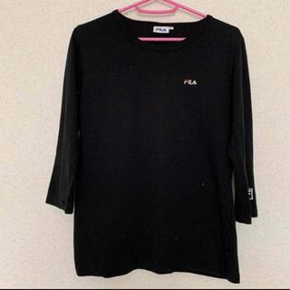 フィラ(FILA)のFILA   ロゴ ロングTシャツ(Tシャツ(長袖/七分))