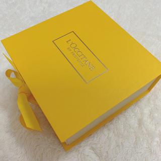 ロクシタン(L'OCCITANE)のロクシタン 化粧箱 リッボン付き(ショップ袋)