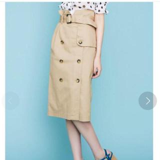 ダズリン(dazzlin)のdazzlinのトレンチナロースカート(ひざ丈スカート)