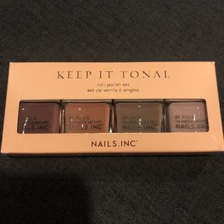 Nailsinc ネイルズインク keep it tonal セット(ファンデーション)