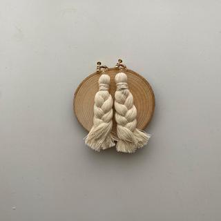 トゥデイフル(TODAYFUL)のrope earring . pierce(ピアス)