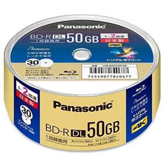 パナソニック(Panasonic)のパナソニック 録画用ブルーレイD50GB(追記型)スピンドル30枚(その他)