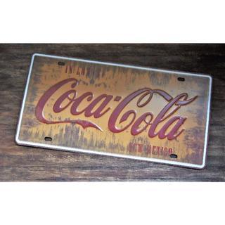 コカコーラ(コカ・コーラ)のアメリカン雑貨☆Coca-Cola看板(その他)