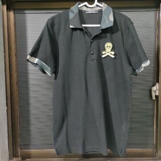 マークアンドロナ(MARK&LONA)のマークアンドロナ MARK&LONA 黒ポロシャツ L(ウエア)