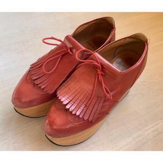 ヴィヴィアンウエストウッド(Vivienne Westwood)のヴィヴィアン ロッキンホース ゴルフ(ローファー/革靴)