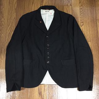 キャピタル(KAPITAL)のkapital  ジャケット コート 黒 サイズ3(L) 中古品(その他)