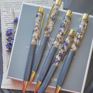 再販 ✳︎ gray×delphinium herbarium pen(その他)