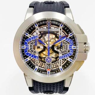 ハリーウィンストン(HARRY WINSTON)のハリーウィンストン harry winston フライバック クロノグラフ (腕時計(アナログ))