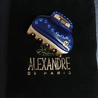 アレクサンドルドゥパリ(Alexandre de Paris)のアレクサンドル ドゥ パリ クリップ(バレッタ/ヘアクリップ)