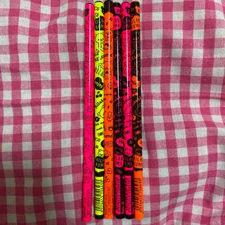 サンエックス(サンエックス)のリラックマ 鉛筆6本セット 2B 蛍光カラー(鉛筆)