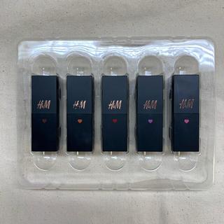エイチアンドエム(H&M)のジーナ 付録 h&mミニリップセット(口紅)