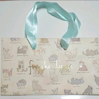 フランシュリッペ(franche lippee)のフランシュリッペ ショッパー 猫(ショップ袋)