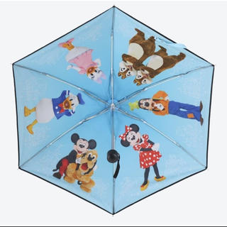 Disney - ディズニーリゾート 晴雨兼用傘 ミッキー&フレンズ 未使用タグ付き