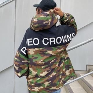 ロデオクラウンズワイドボウル(RODEO CROWNS WIDE BOWL)の新品 迷彩(男女兼用)早い者勝ちノーコメント即決しましょう❗️コメントやめましょ(ナイロンジャケット)