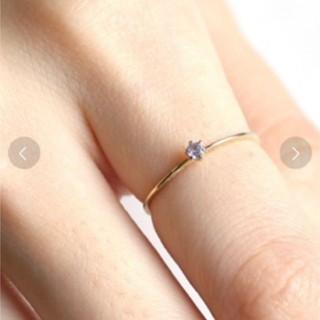 アネモネ(Ane Mone)の値下げ! アネモネ リング 誕生石 12月 金 指輪 10K タンザナイト(リング(指輪))