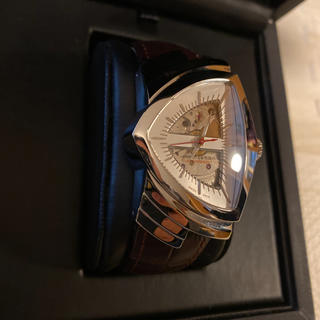 ベンチュラ(VENTURA)の人気品! HAMILTON ベンチュラ H245150 オートマチック 茶 革(腕時計(アナログ))