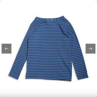 アンパサンド(ampersand)のボーダーカットソー 長袖 120(Tシャツ/カットソー)