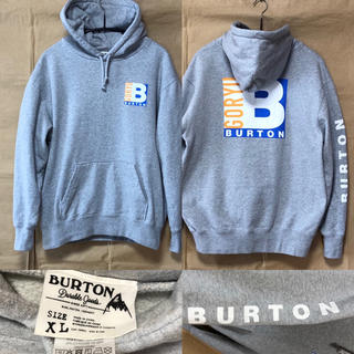 バートン(BURTON)のBURTON パーカー XL グレー(パーカー)