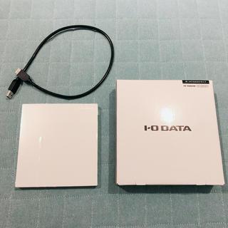 アイオーデータ(IODATA)のI-O DATA 外付け DVDドライブ 薄型 ポータブル(PC周辺機器)