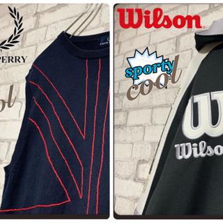 ウィルソン(wilson)の【オコジョ様専用】ウィルソン&フレッドペリー/トラックジャケット ベスト(ジャージ)