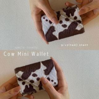 シールームリン(SeaRoomlynn)のsearoomlynn cow ミニウォレット ノベルティ(財布)