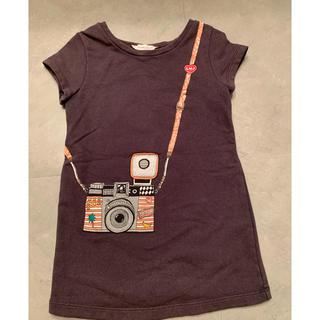 マークバイマークジェイコブス(MARC BY MARC JACOBS)のリトル マークジェイコブス  ネイビー  ワンピース (Tシャツ/カットソー)