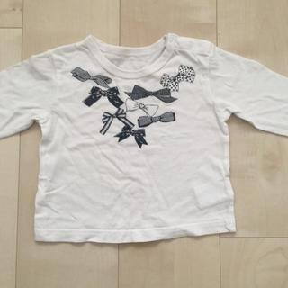 コムサイズム(COMME CA ISM)のコムサイズム ベビー リボン シャツ カットソー(Tシャツ)