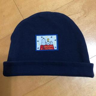 SNOOPY - スヌーピー 赤ちゃん帽子 80cm
