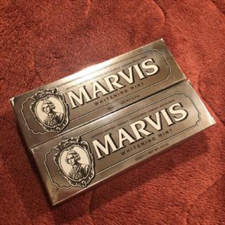 マービス(MARVIS)のMARVIS♡歯磨き粉 ホワイトニングミント 85ml 2本(歯磨き粉)