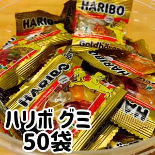 ゴールデンベア(Golden Bear)のハリボー グミ ミニサイズ ゴールドベア 50袋(菓子/デザート)
