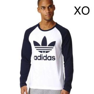 アディダス(adidas)の新品 adidas Originals☆ラグラン ロンT ネイビー アディダス(Tシャツ/カットソー(七分/長袖))