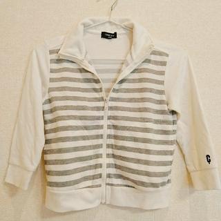 コムサイズム(COMME CA ISM)の120A☆ジップアップ羽織り(ジャケット/上着)